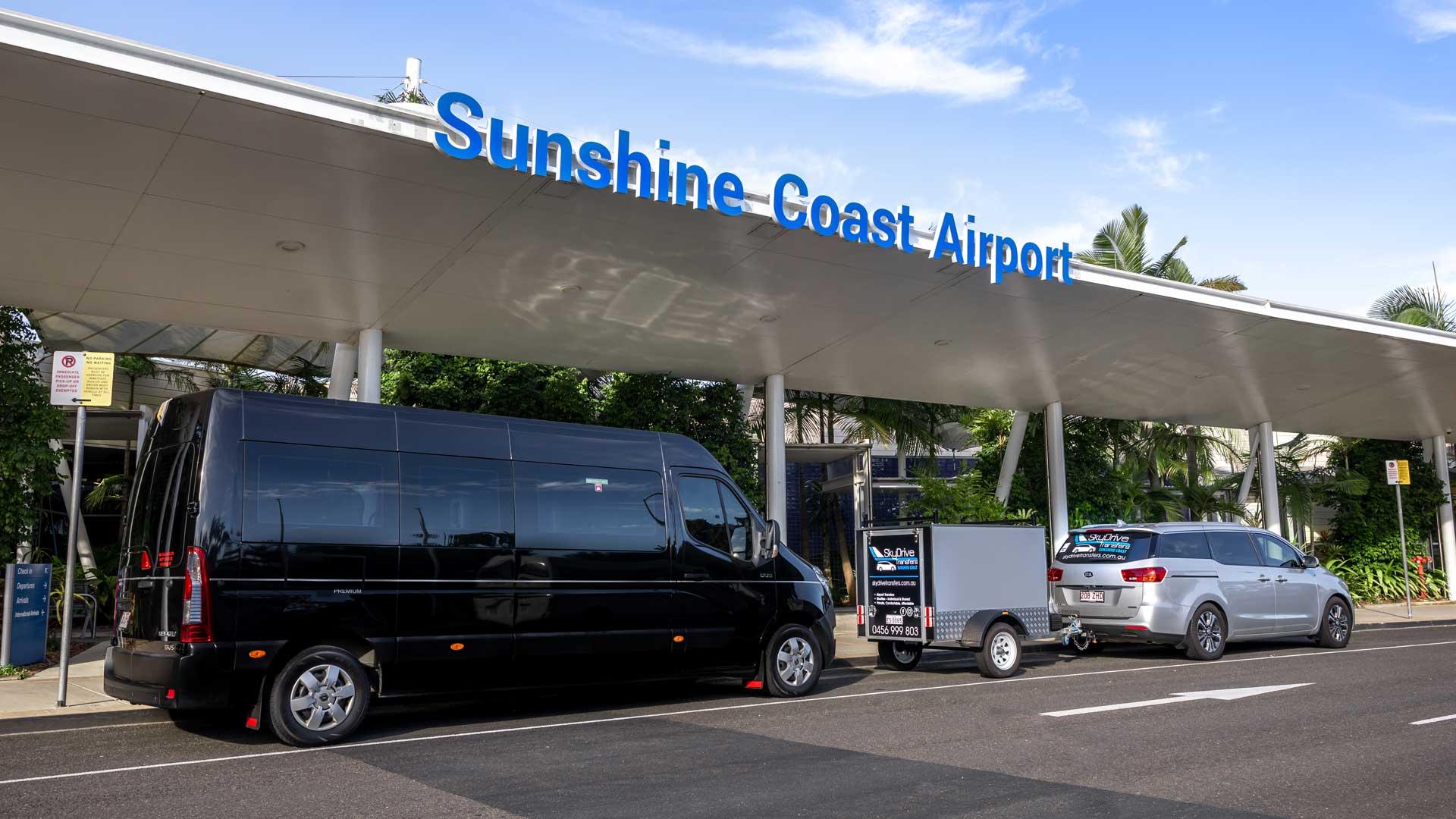 Private Transfers Sunshine Coast - sunshine coast airport window